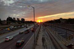 Chicago Austin Station Sunrise