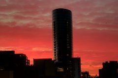 Chicago Fall Sunset