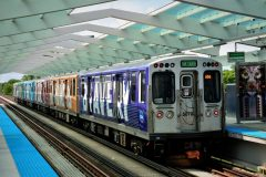 CTA Public Art Train